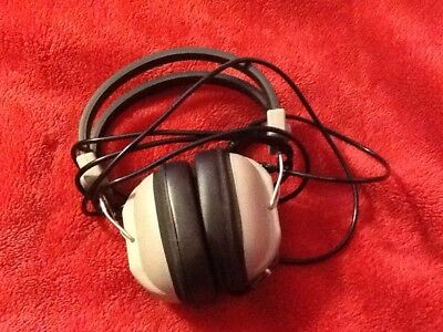 Vintage Wh Smith  Stereo Headphones Model No.md 802A