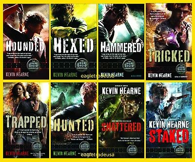 The Iron Druid Chronicles Novels by Kevin Hearne (Books 1-8 in Series) MM PB NEW