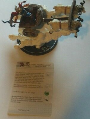 heroclix convention exclusive hammer of thor thor s mighty chariot