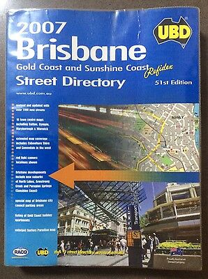 2007 UBD Brisbane, Gold Coast & Sunshine Coast Refidex