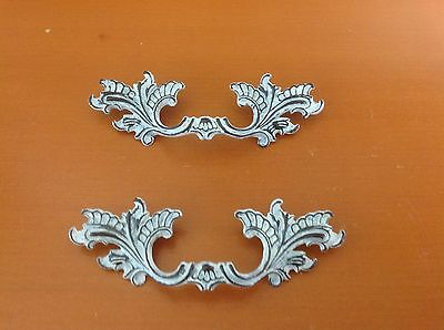 X036B VTG French Provincial Handle White Wash Shabby Chic! Only 1 left
