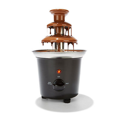 Chocolate Fondue Fountain Dipping Machine Melting Mixer Hot Maker Party Wedding