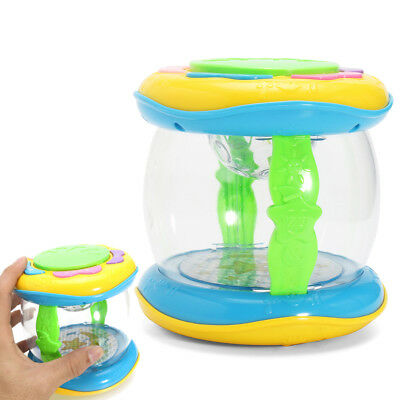 Plastic Lighting Drum Music Toy for Child Kid Chrimstams Gift AU Shipping