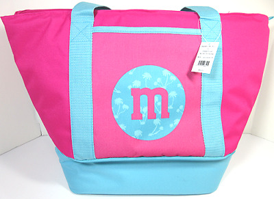 M&M's WORLD - SUMMER INSULATED BEACH TOTE - 100% AUTHENTIC