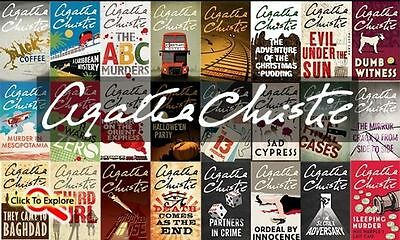 AGATHA CHRISTIE Audiobook + ebook COLLECTION POIROT MARPLE ** Email delivery **