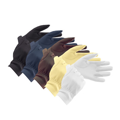 Equetech Leather Gloves Adults Horse And Equestrian