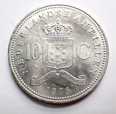 1978  Netherlands 10 G Silver Coin