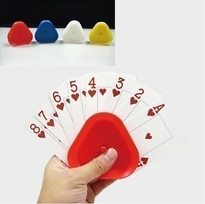 Playing Card Holders, Set of 4, Ideal for those with limited grip