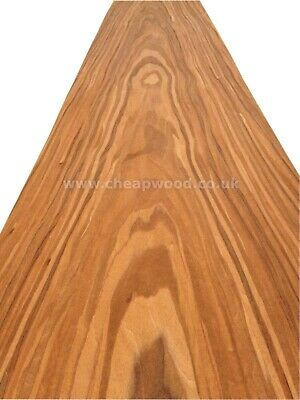 "110,2/"" x 24,8/""  Wood Veneer Sheet Teak Veneer  2800mm x 630mm"