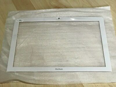 "Original Apple MacBook 13"" weiß white Display Rahmen Bezel A1181 2006 - 2009"