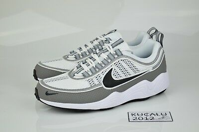 ff73dbea1f911 Nike Air Zoom Spiridon SP White Black Light Ash Summer Pack 849776-101 US8