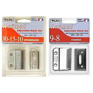 Wahl Adjustable Clipper Replacement Blades Horse And Equestrian