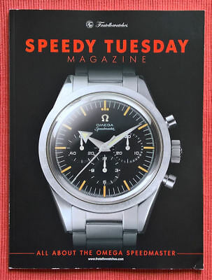 OMEGA- SPEEDY TUESDAY Magazin - Limited , May 2017 - in Englisch