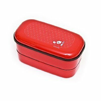 Urara Red Rabbit 2 Tier Japanese Bento Box by icn