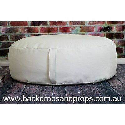 Ottoman Newborn Posing Bean Bag Cover/newborn Pod With Handle - Photography Prop