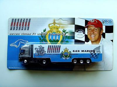 Michael Schumacher Collection - Truck Konvolut - 9 Trucks der Saison 2005 - LKW