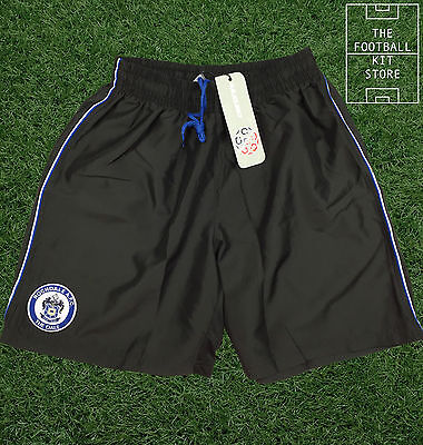 Rochdale Football Shorts - Black- Mens - All Sizes - *CYBER MONDAY SALE*