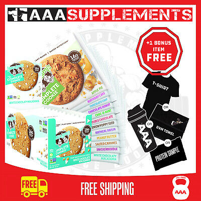 LENNY AND LARRY'S THE COMPLETE COOKIE | 12 pack | 16g protein | non-gmo | Vegan