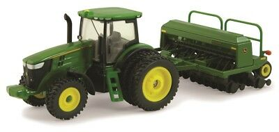 John Deere Toy 7215R Tractor With 1590 Grain Drill (45433) (Pn:  45433)