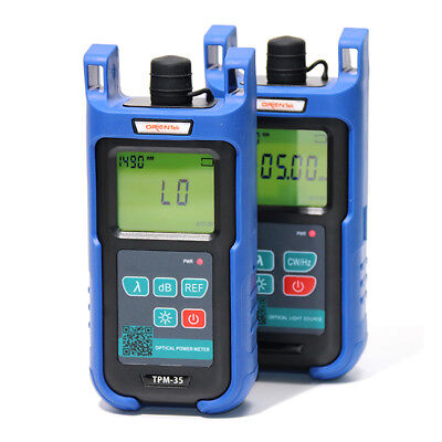 Orientek TPM-35 Optical Power Meter + TLS-35 Optical Light Source 800 ~1700nm