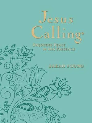 Jesus Calling: Enjoying Peace in His Presence New Imitation Leather Book Sarah Y