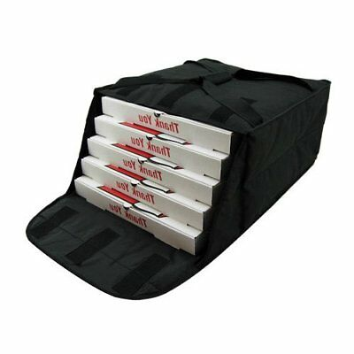 """Pizza Delivery Bags Thick insulated (Holds upto Four16"""" or Five18"""" Pizzas)Black."""