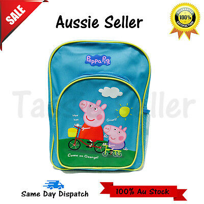 New Large Kids Backpack Boys Girls School Bag Children Peppa Pig Christmas Gift