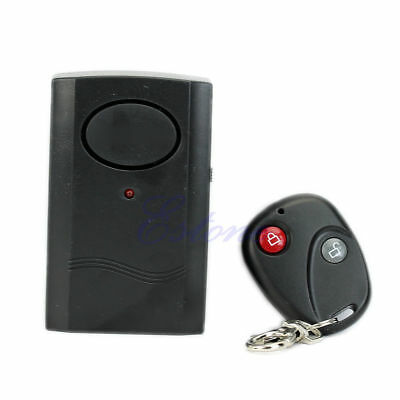 Remote Control Alarm Wireless Security Motorcycle Car Vibration Detector Burglar