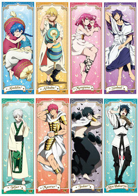 Magi The Labyrinth of Magic poster Judal Jafar Sinbad Hakuryuu Aladdin Morgiana