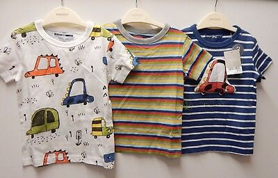 Baby Boys ~ Next ~ 3 Pack T'shirts ~ Sizes 9-12 / 12-18 & 18-24 Months ~ Ref A6