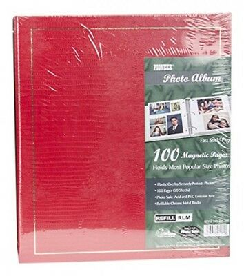 Pioneer LM100 Binder Magnetic 3ring Photo Album 100page , Pack of 1