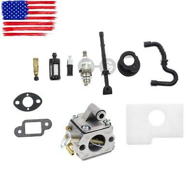 CARBURETOR CARB AIR Filter Fuel Oil Line for STIHL MS170 MS180 017 018  Chainsaw