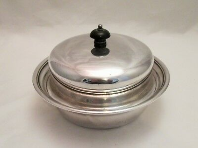 A Silver Plated Muffin Dish / Food Warmer by Dixons - c1900