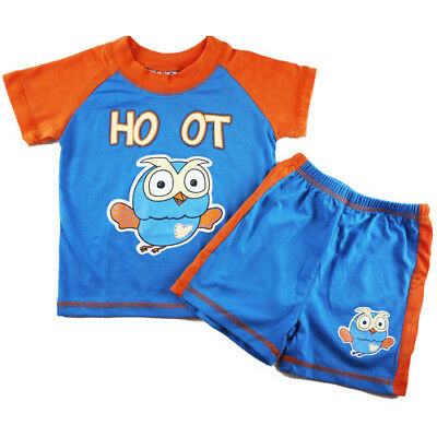 new Boys summer Giggle and Hoot pjs pj sleepware size 1 2 3 4 5 in SYD