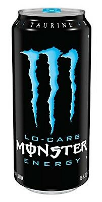 Monster Energy, LoCarb, 16 Ounce (Pack of 24)