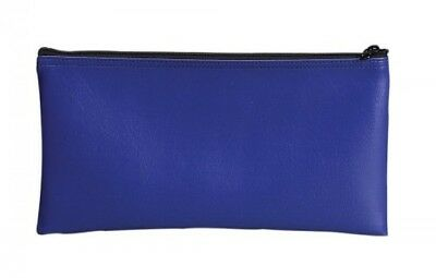 PM Company SecurIT Bank Deposit/Utility Zip per Bag, 11 x 6 Inches, Blue,
