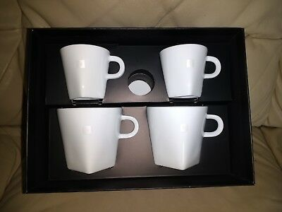 8294e0844750d Nespresso Pure Collection Set of 2 Espresso and 2 Lungo Cups and Saucers -  Brand