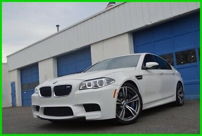 2015 BMW M5  Heated Ventilated Multi Function Premium Leather HUD Lane Keeping HK Audio &More