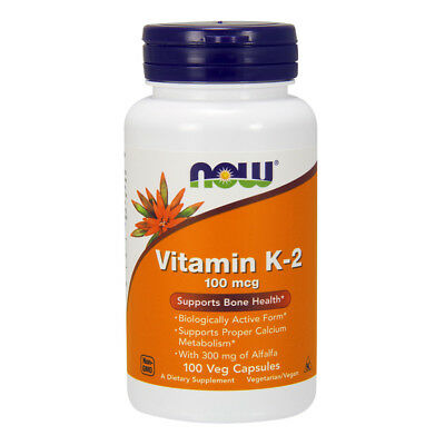 NOW FOODS Vitamin K-2 100mcg 100 capsule - VITAMINE