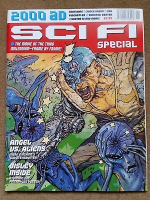 2000AD Sci Fi Special 1996 with Judge Dredd, Sinister Dexter Joe Pineapples plus