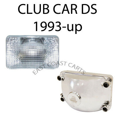 Club Car 1993-Newer DS Golf Cart FACTORY Headlight Lens 1019882-01