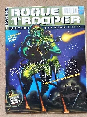 Rogue Trooper 1996 Action special from 2000AD