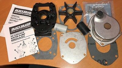Genuine Full Water Pump Repair Kit MERCURY MARINER 75HP 90HP thru 125HP OUTBOARD