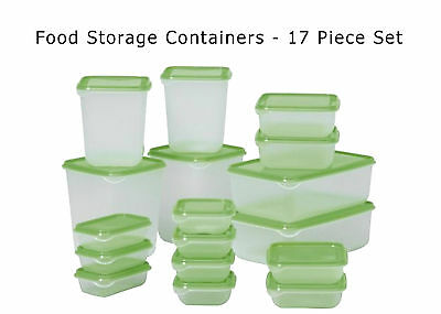 FOOD STORAGE CONTAINERS Kitchen Fridge Tupperware Box Table Camping