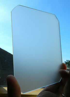 ANY SIZE GROUND GLASS FOCUSING SCREEN LARGE FORMAT CAMERA 8 x 10 / 5 x 7/ 5 x 4