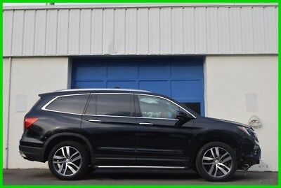 2016 Honda Pilot Touring Repairable Rebuildable Salvage Lot Drives Great Project Builder Fixer Easy Fix