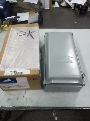 Midwest Rain Proof Power Inlet Cat#U020N 20 Amps 120/240 Volts 1 Phase (NIB)