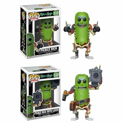 [PREORDER] Funko POP! Rick and Morty Pickle Rick Set of 2 SHIPS IN JANUARY