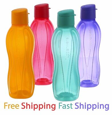 Tupperware Flip Top Water Bottle 1X 500 ml Eco Aquasafe Free Shipping Eco Sports