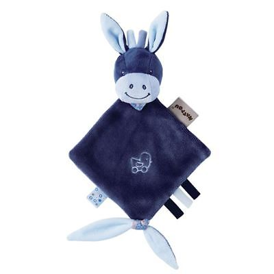 Nattou Alex And Bibou- Mini Doudou Comforter Alex The Donkey 0m+